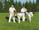 Trenig karate nad Zalewem w Zambrowie